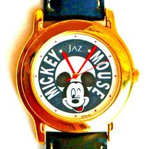 Mickey Seiko Jaz Mans Disney Collectable Unworn Watch Silver Tone Rare F... - $97.86