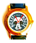 Mickey Seiko Jaz Mans Disney Collectable Unworn Watch Silver Tone Rare F... - $97.86