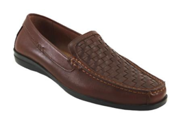 Mens Dockers Ferndale Cognac Leather Slip On Shoes [90-38045] - $69.99