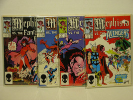 MEPHISTO VS THE MARVEL UNIVERSE - 4 PART SERIES  - FREE SHIPPING - $14.03