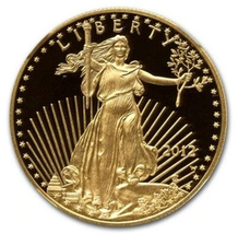 liberty eagle 2012 1 troy Oz. coin plated 1.5 grams .999 fine gold - $249.00