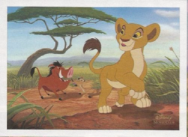 The Lion King 2 Simba's Pride Lithograph Disney Movie Club Exclusive NEW - $18.97