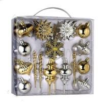 Kurt Adler 36pc Mini Shatterproof Ornament Set - $31.56