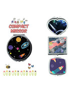 Galaxy Space makeup mirror compact mirror purse mirror travel mirror - $11.99