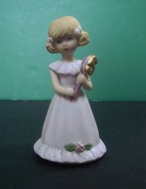 Enesco Growing Up Birthday Girls Age 5, No Box - $7.99