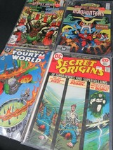 Dc Comics Lot x4 Secret Origins Jack Kirby's 12 23 22 5 Books Estate Sale 1980's - £13.96 GBP