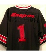 Snap On Tools Mens Football Jersey Size Large Black Red 2009 Special Edi... - $19.99