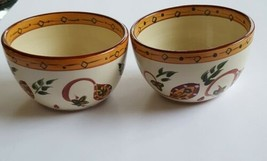 Tabletops Unlimited English Manor Soup Cereal Bowl Gallery Paisley Flowers Set 2 - $35.63