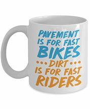 PixiDoodle Fast Bikes Dirt Bikes for Fast Riders - Racing Coffee Mug (11 oz, Whi - $20.89