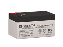 Honeywell PE3A12R Replacement SLA Battery by SigmasTek - $18.80