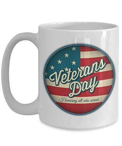 Primary image for Veterans day Honoring all who served gift mug | Gift for veterans | Veterans day