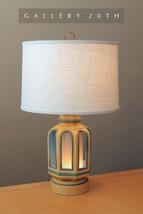 RARE! MID CENTURY MODERN 'LIGHT HOUSE' TABLE LAMP! Eames Vtg Blue 50s 60... - €750,69 EUR