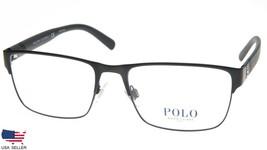 New Polo Ralph Lauren Ph 1175 9038 Matte Black Eyeglasses Frame 56-18-145 B39mm - $84.14