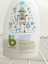 Babyganics 3.38 oz. Fragrance-Free Foaming Dish and Bottle Soap image 2