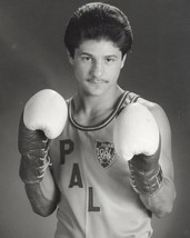 JOHNNY TAPIA 8X10 PHOTO BOXING PICTURE POLICE ATHLETIC LEAGUE PAL - $3.95