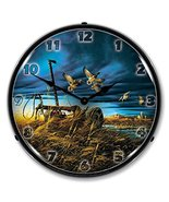 Landmark Mallards By Terry Redlin Lighted Wall Clock - $129.95