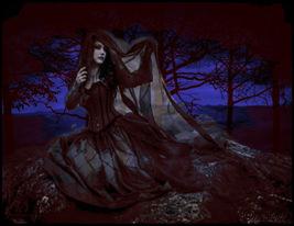 Fiona Shapeshifter Vampire Qliphoth Ring Kabbalah Witchcraft Astral Sex Magick - $64.00