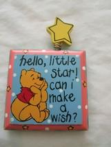 Wdw Disney Vintage Winnie The Pooh Magnet Hello Little Star Can I Make A Wish - $9.99