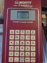 1980s Scrabble Electronic Handheld LCD Game Monty Plays Scrabble - $15.00
