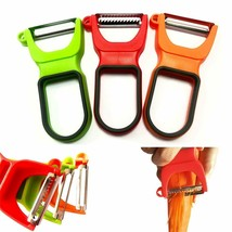 3 Packs Magic Trio Vegetables and Fruit Peelers, Stainless Steel Tomato/... - $14.25