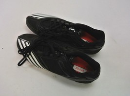 adidas Scorch Thrill Superfly Low Football Cleats 12.5 Medium Black Whit... - $23.79