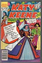 Katy Keene #18 1986-Halloween cover-spicy poses-GGA-fashions-pin-ups-FN - $31.53