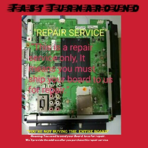 Primary image for REPAIR SERVICE LG EBT61579912 (EAX633333405(0)) Main Board for 55LV9500-UA