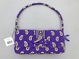 New Genuine Vera Bradley -Knot Just a Clutch- handbag Simply Violet Purse - $21.61 CAD