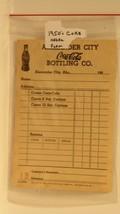 Vintage 1950s Coca Cola Bottling Company Order Blank Alexander City - $13.85