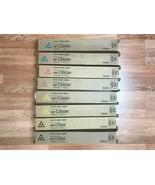2 SETS OF GENUINE RICOH CMYK  PRINT CARTRIDGES FOR MP C2503H FedEx 2Day Air!!! - $524.70