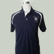 Yale University Bulldogs Men Polo Shirt Size XL Navy Blue by Champion Elite - $48.45
