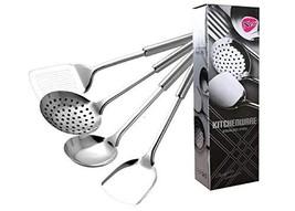 Kitchen Spoon, Stainless Steel Cooking Spoon, Kitchen Set, Spoon Set Set... - $20.13
