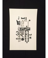 "Letterpress Print: Gifts For Mother 1 (11"" x 17"") - $25.00"