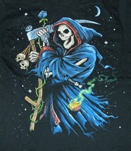 Grim Reaper with Scythe Two-Sided Fantasy Art T-Shirt Size X-LARGE, NEW ... - €11,83 EUR