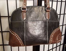 Vintage Country Road Leather Purse W/Studded General Lee Dukes Of Hazard Flag image 4