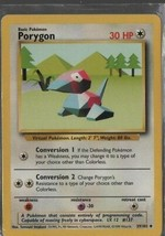 Porygon - Pokemon Colllectible Card Game - Basic - 1999 - 39/102 - Wizards. - $0.97