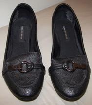 Ons Size Buchman Shoes 5 VGC Slip M Woman's 6 Flats Black Dana qUtwBva