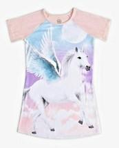 Wonder Nation Unicorn Pink Nightgown Gown Sleepwear Size XXL 18 - $9.49