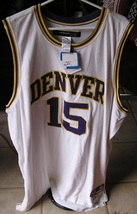Carmelo Anthony 3XL Denver Nuggets #15 2005 Basketball Shirt NBA Heavy R... - $69.50