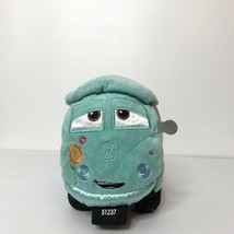 "Disney Store Exclusive Cars Fillmore 9"" Plush Volkswagen Van Hippie Peac... - $28.59"