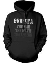 The Man Myth Legend Hoodie for Grandpa Christmas Gift idea for Grandfather - $25.99+