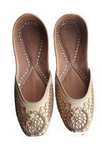 punjabi juttiething shoes, leather shoes, handmad jutti,oneline jutti USA-7 - $29.99