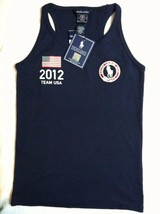 RALPH LAUREN TEENAGE GIRLS NEW NAVY 100%COTTON 2012 OLYMPIC TOP SIZE XL(16) - $36.47