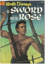 Walt Disney the Sword and the Rose Four Color Comic Book #505 Dell 1953 ... - $15.44