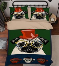 3D Funny Dog 139 Bed Pillowcases Quilt Duvet Cover Set Single Queen King Size AU - $64.32+