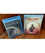 The Witch (Blu-ray+Digital)+Hellfest (Blu-ray+DVD+Digital) NEW (Sealed)-... - $14.83