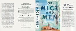John Steinbeck di Topi e Men Facsimile Polvere Copertura per First & Prima - $21.50