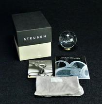 Steuben Glass Paperweight Galaxy - $760.00