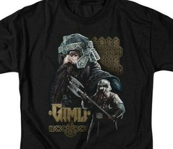 The Lord of the Rings trilogy Gimli Dwarf Warrior graphic t-shirt LOR1009 image 2