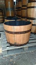 Half Whisky Barrel - Refurbished & Varnished Planters - High quality sol... - $72.44